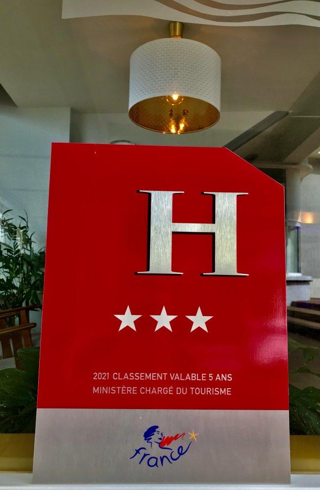 Hôtel Hermitage Royan accède à la troisième étoile