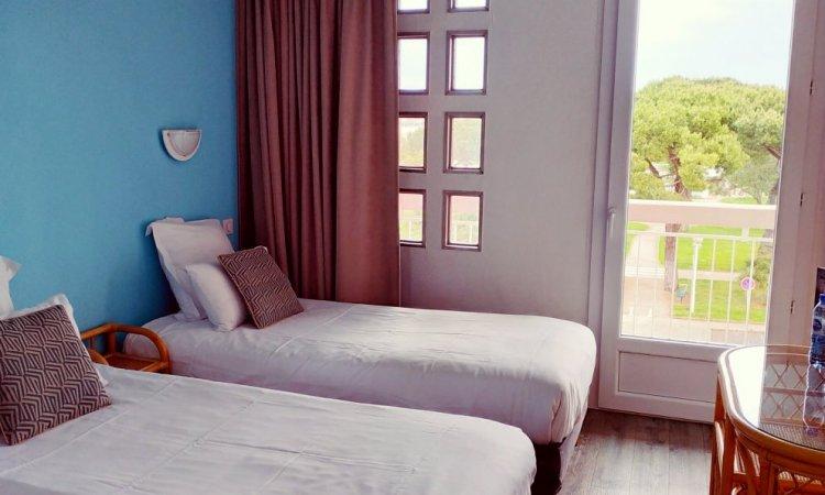 chambre twin (2 lits)